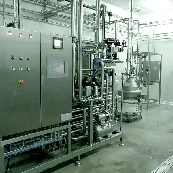 Pasteurization – Skimming – Standardization unit
