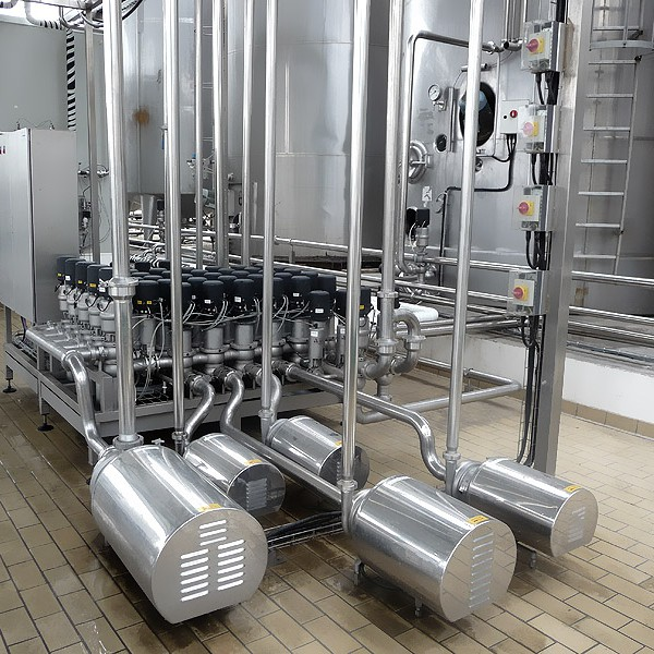 Valve Cluster of raw milk unit