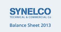 Balance Sheet 2013 PDF