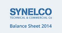 Balance Sheet 2014 PDF