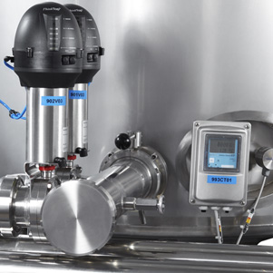CIP dosing system of the disinfection