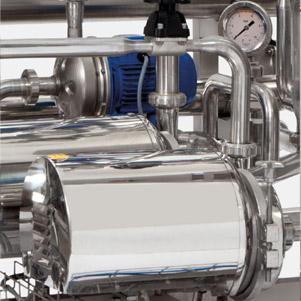 Detail of pilot plant Membran-tech