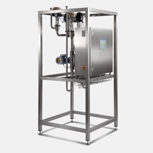 Milk / Cream automatic standardizing unit