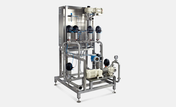 AUTOMATIC DOSING AND MIXING UNIT
