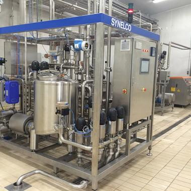 Fully automatic pasteurizing unit