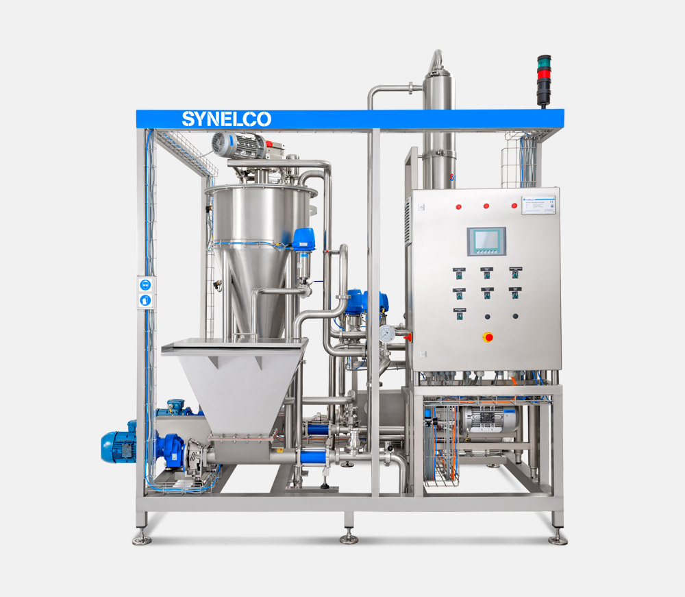 VISCOUS PRODUCTS PASTEURIZATION UNIT